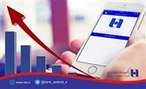 رشد ٩٩ درصدی استقبال مشتریان از همراه بانک صادرات