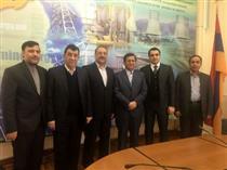 دیدار مدیران بیمه ای با معاون وزیر زیر ساختهای انرژی ارمنستان