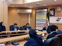 دیدار هیات مدیره انجمن خبرنگاران بازارسرمایه با رئیس بورس