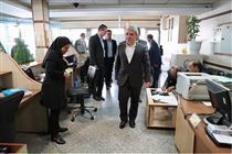 بازدید سرزده مدیرعامل بانک ملی ایران از شعب تهرانپارس و نارمک