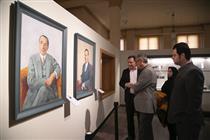 بازدید مدیرعامل موسسه فرهنگی موزههای بنیاد از موزه بانک ملی