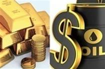 کاهش قیمت نفت و افزایش قیمت طلا در بازارهای جهانی