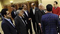 نشست صمیمی مدیران ارشد بانک ایران زمین با اهالی رسانه