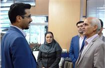 مدیر عامل بانک سرمایه در جمع همکاران البرزی