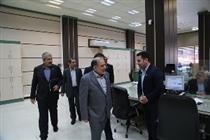 بازدید مدیرعامل از شعب بانک کشاورزی تهران