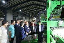 بازدید مدیرعامل بانک توسعه تعاون از شرکت تعاونی آریا چوب ساوالان