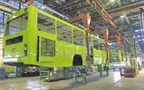 جدیدترین وضعیت تولید اتوبوس در ایران