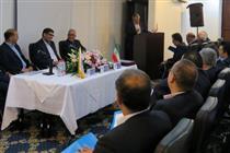 بازدید عضو هیات عامل و مدیران ارشد بانک ایران زمین از شعب استان هرمزگان