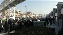 تجمع مالباختگان بازار سرمایه مقابل مجلس
