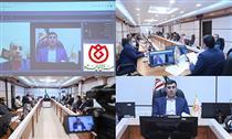 جلسه مجازی مدیرعامل صندوق شاهد با کارکنان