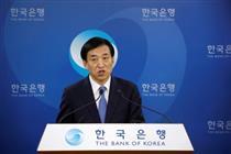 کارآمدی سیاست پولی بانک مرکزی کره جنوبی محدود شد