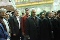 تجدید میثاق کارکنان بانک رفاه با امام راحل