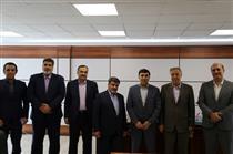 دیدار رئیس هیئت مدیره بانک دی با رئیس هیئت مدیره و مدیرعامل صندوق قرض الحسنه شاهد