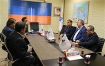 بازدید مدیران بانک توسعه تعاون از شرکت آرتین بنادر اروند خرمشهر