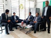 بازدید عضو هیات مدیره بانک قرض الحسنه مهر ایران از شعب استان ایلام