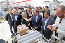 بازدید اعضای هیات مدیره بانک ملی ایران از گروه تولیدی خوشگوار