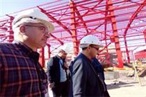 بازدید بانک صنعت از نیروگاه غرب مازندران