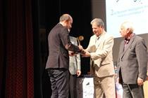 تصاویری از اهدای جایزه بالاترین سطح هوش تجاری کشور به ایران کیش