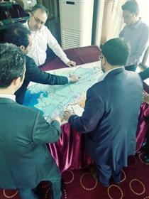 بازدید مدیرعامل بیمه میهن از مناطق سیل زده استان خوزستان