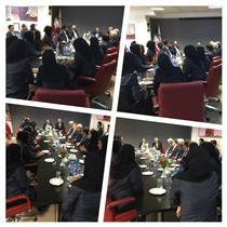 دیدار قائم مقام و اعضای هیئت مدیره بیمه رازی با مدیران و کارمندان در سال جدید