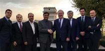 دیدار دکتر همتی با رئیس کل گروه اسکور در فرانسه