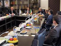 برگزاری مراسم تودیع و معارفه رییس مجتمع کریمخان زند بیمه البرز