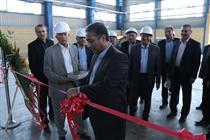 افتتاح خط تولید لوله های فولادی اسپیرال با حضور مدیران بانک ملی
