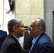 دیدار کرباسیان با طیبنیا پساز کسب رای اعتماد از مجلس +تصویر