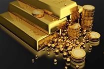 کاهش قیمت فلز زرد