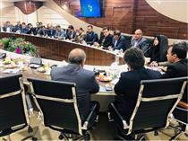 برگزاری نشست مدیران بانک صادرات با حضور مدیر بیمه سرمد در استان قم