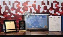 اهدای جایزه ملی سرآمدان اقتصاد ایران در صنعت بانکداری به مدیرعامل بانک شهر