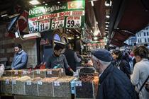 سیلاب ها افزایش قیمت موادغذایی در ترکیه را رقم زد