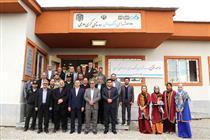 بانک دی نخستین مدرسه ساز در مناطق سیلزده
