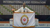 کسب نشان برنز کارمند بانک ملی در مسابقات کاتا جودوی قهرمانی جهان