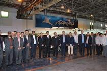 بازدید مدیر عامل بانک رفاه از شرکت های خودروسازی کرمان