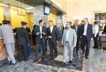 بازدید اعضای هیات مدیره از شعبه سیار بانک ملّی