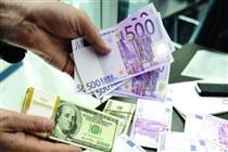 افزایش قیمت دلار و یورو + جدول