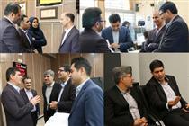 بازدید مدیران ارشد بانک ایران زمین از شعب استان اصفهان