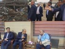 بازدید مدیرعامل بانکشهر از مناطق زلزلهزده