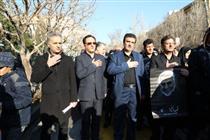 حضور مدیرعامل و کارکنان بانک رفاه در مراسم وداع با سردار سلیمانی
