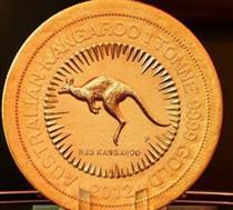 بزرگترین سکه طلای جهان رونمایی می شود