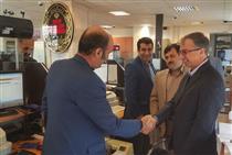 بازدید عضو هیات مدیره بانک ملی ایران از شعب گرگان