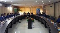 بازدید مدیرعامل بانک قرض الحسنه مهر ایران از مدیریت شعب استان یزد
