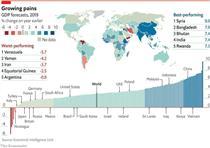 رشد منفی در انتظار اقتصاد ایران در سال ۲۰۱۹