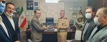 دیدار مدیرعامل بانک ملت با فرمانده نیروی دریایی ارتش
