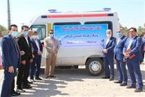 اهدای یک دستگاه آمبولانس توسط بانک رفاه به دانشگاه جیرفت
