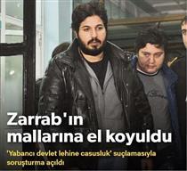 اموال رضا ضراب در ترکیه توقیف شد