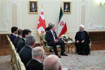 ایران از گسترش همکاریها با گرجستان استقبال میکند