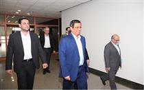 بازدید رئیس کل بانک مرکزی از اتاق معاملات عملیات بازار باز