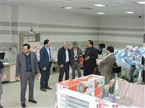 حضور شیری مدیرعامل پست بانک ایران در مناطق سیل زده